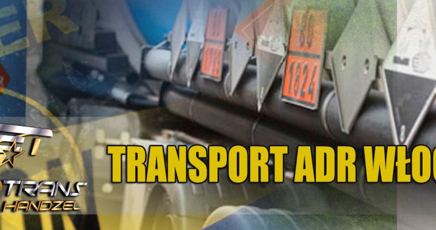 transport adr wlochy